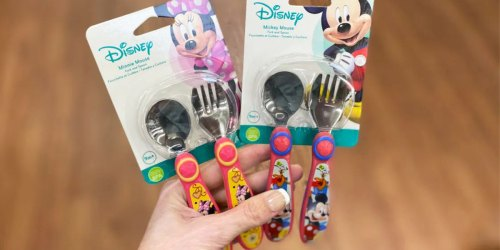 Disney Stainless Steel Kids Flatware Sets Only $2.48 on Amazon (Regularly $5)
