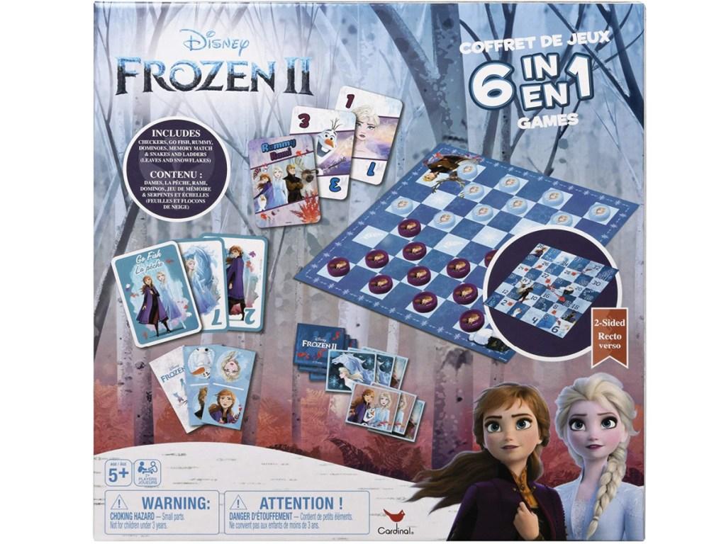 Frozen II 6-in-1 Board Game