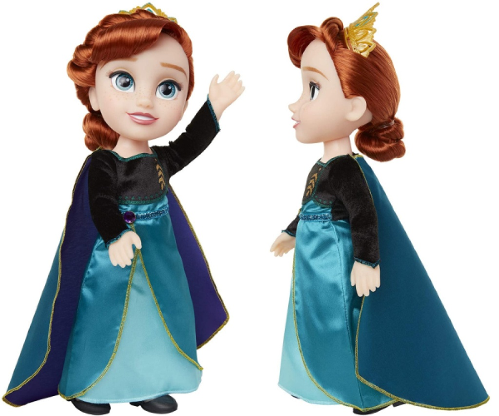 two Disney princess dolls