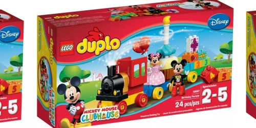 LEGO DUPLO Disney Mickey & Minnie Birthday Parade Set Only $17 on Amazon (Regularly $25)