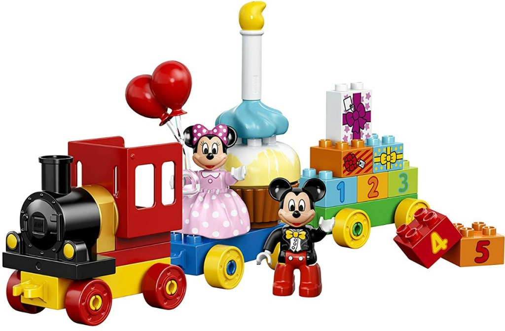 Disney Mickey Mouse and Minnie Mouse set built