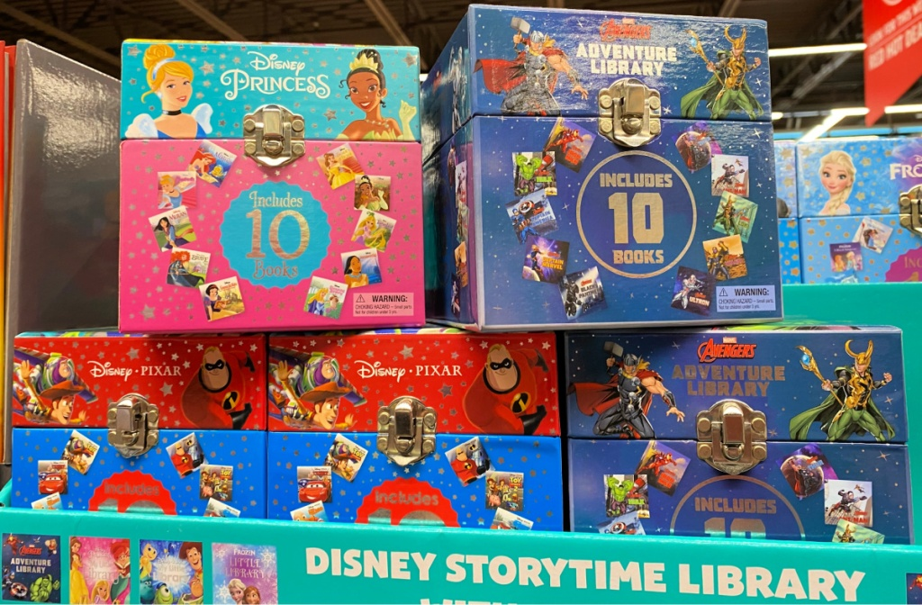 Disney Pixar Marvel My First Library Book Sets