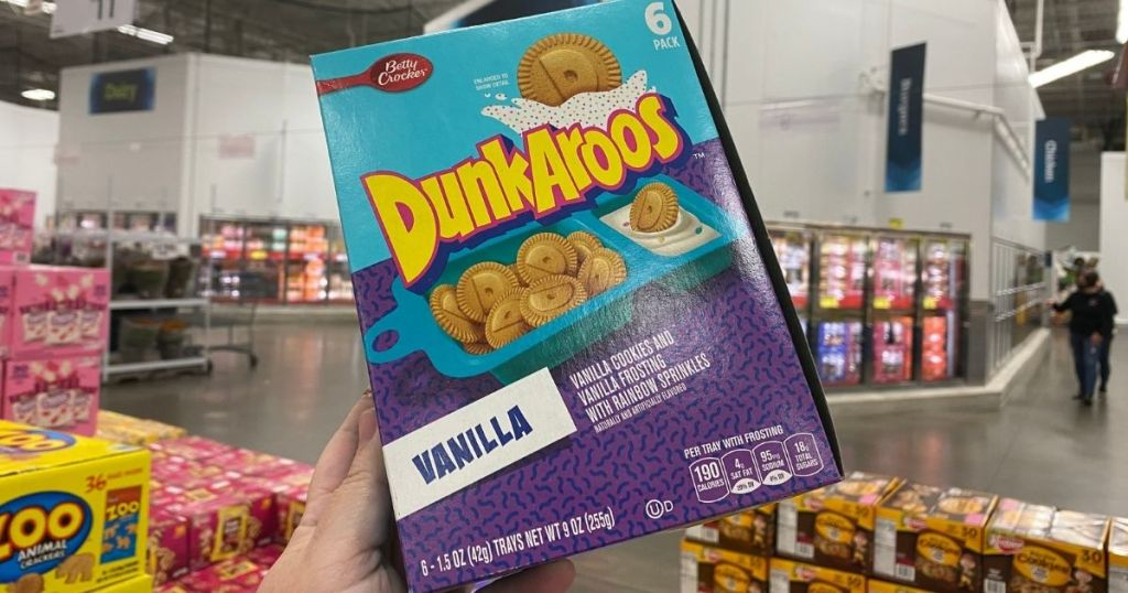 box of Dunkaroos Cookie Snacks at Sam's Club