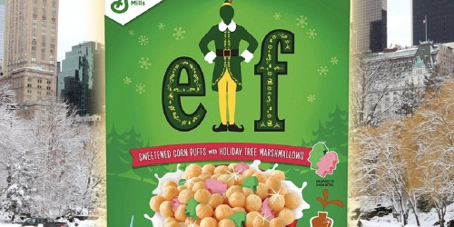 General Mills Releasing Elf Cereal Just In Time for the Holidays