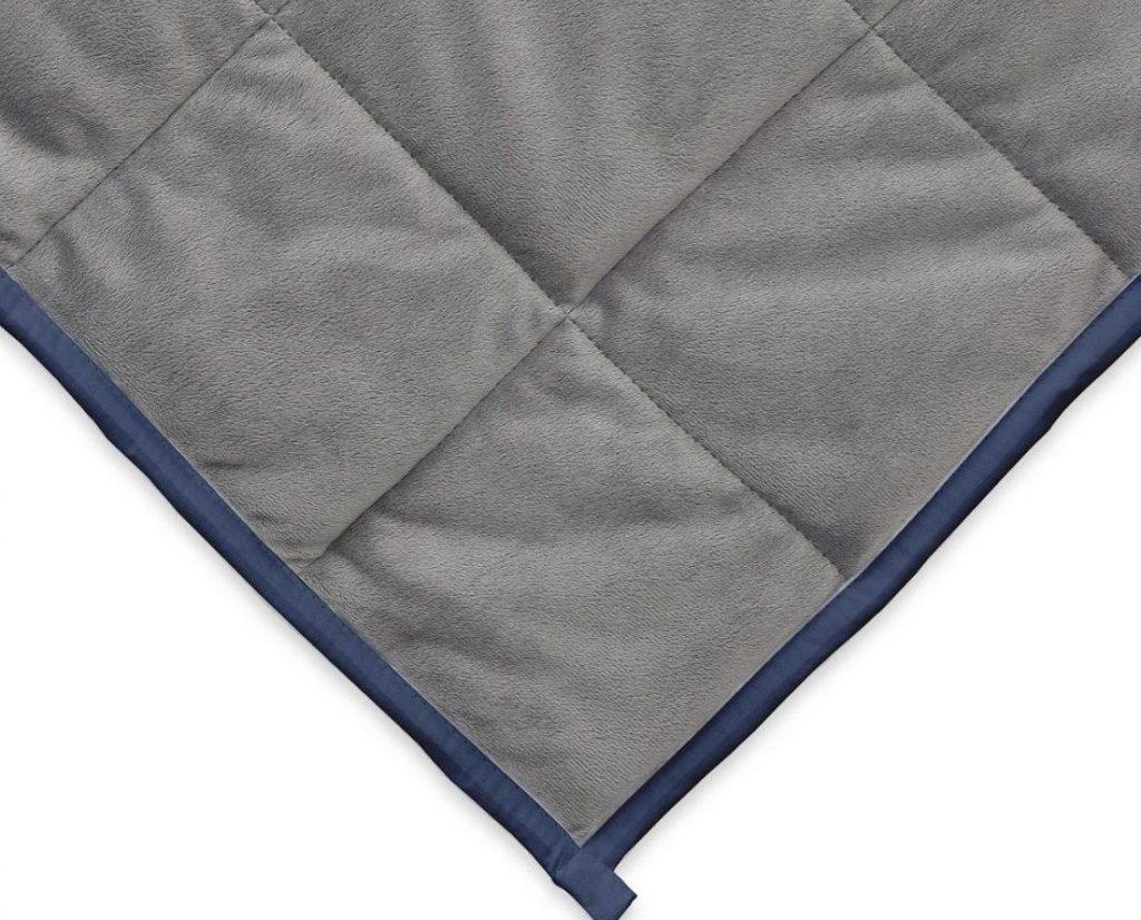 Ella Jayne Reversible Weighted Blanket Minky Side