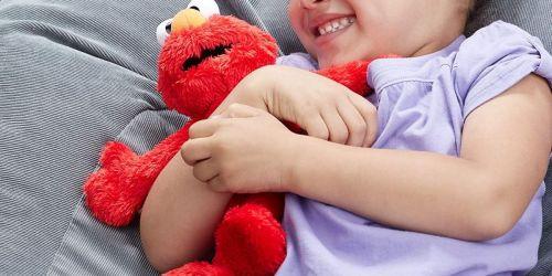 Sesame Street Plush Elmo Only $7.88 on Amazon (Regularly $22)