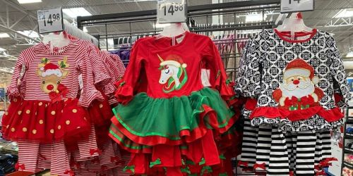 Emily Rose 2-Piece Girls Holiday Sets Only $14.98 at Sam's Club
