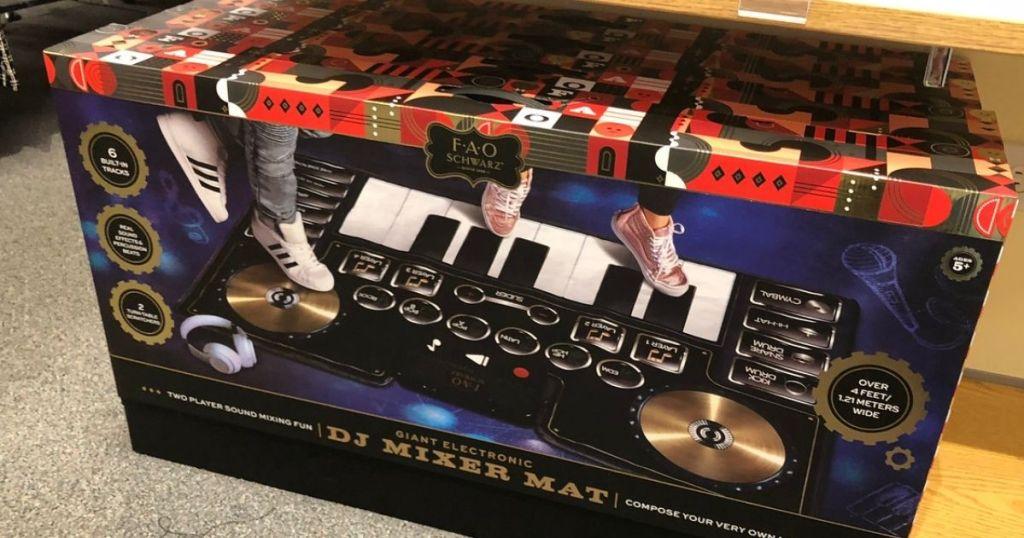 FAO Schwartz DJ Mixer Mat