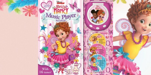 Disney Fancy Nancy Music Player Storybook Only $8 on Walmart.com (Regularly $20)