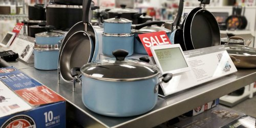 Farberware 15-Piece Cookware Set from $38.99 Shipped After Rebate (Regularly $120) + Earn Kohl's Cash