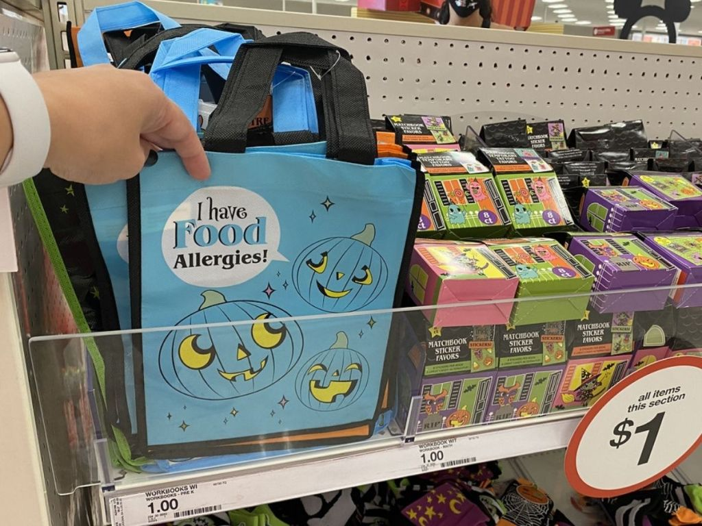 Target Dollar Spot I Have Allergies Treat Bags