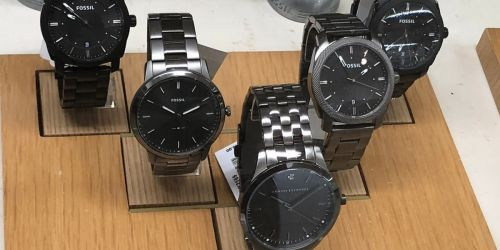 Fossil Watches from $32.50 Shipped (Regularly $100+) | Black Friday Sale