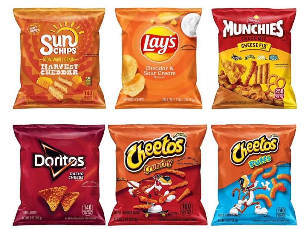 Frito-Lay Cheesy Snacks 40-Count on Amazon
