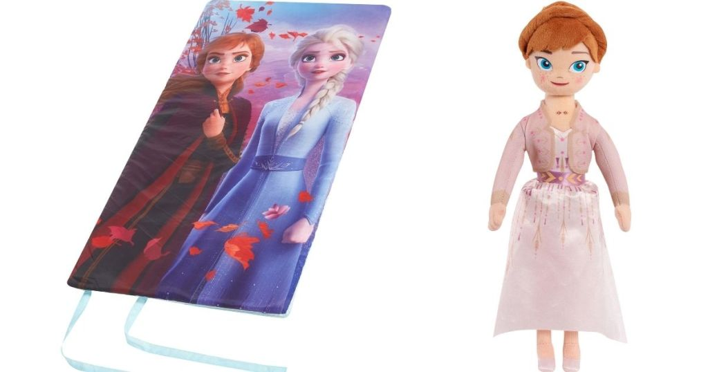 Frozen Sleeping Bag and Doll