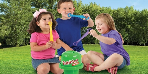 Fubbles No Spill Big Bubble Bucket Only $11.52 on Amazon (Regularly $17)