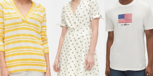 Up to 85% Off Gap Apparel   Tops, Jumpsuits, Jeans & More