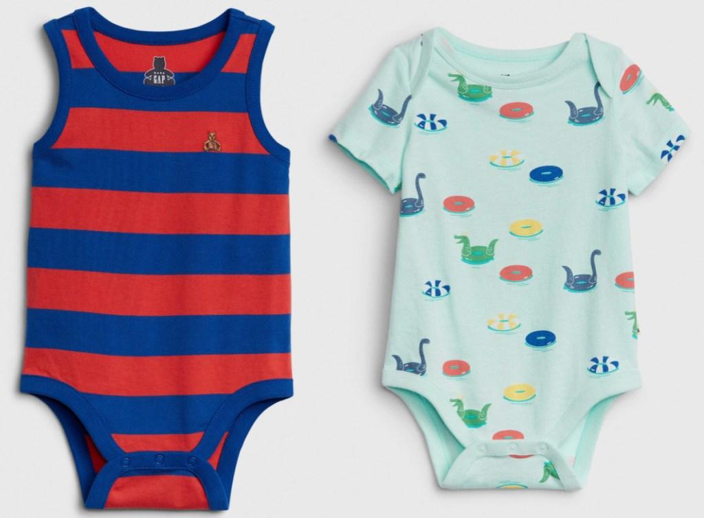 GAP baby boy onesies