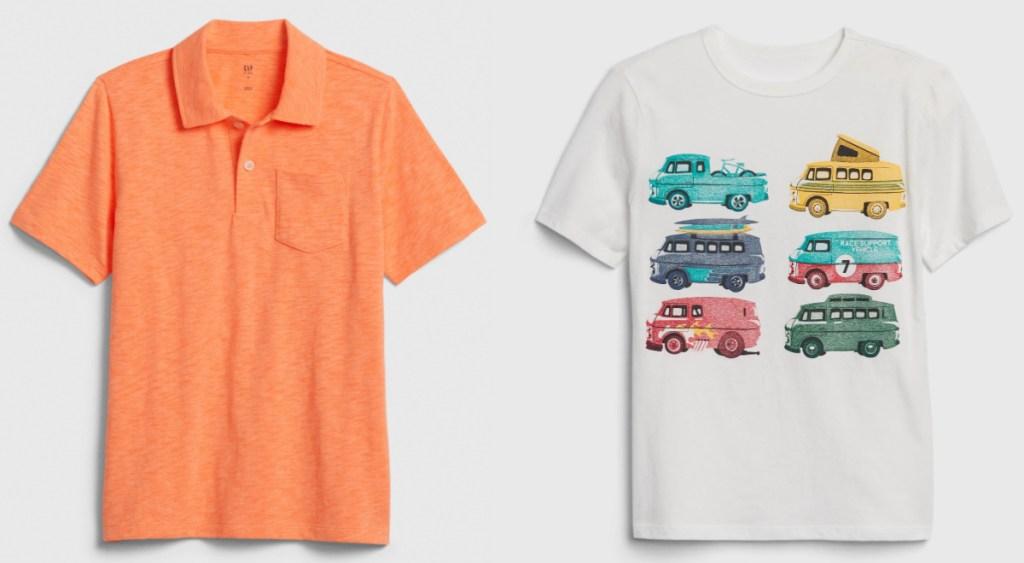 GAP boys t-shirts