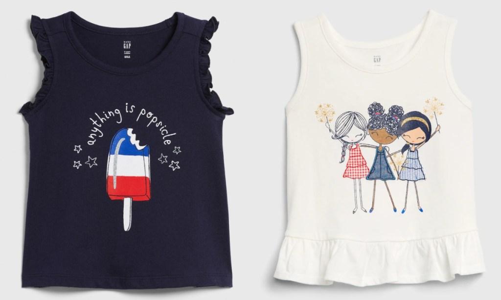 GAP toddler girls tshirts