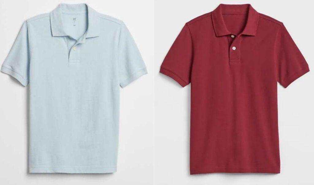 two boys polo shirts