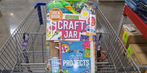 Giant Craft Jar Only $19.98 at Sam's Club | Includes Over 300 Items + Project Book