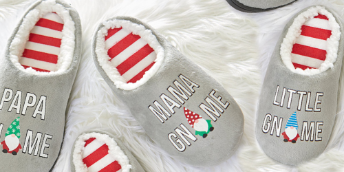 Gnome Family Slippers from $8.99 Shipped | Ends Tonight