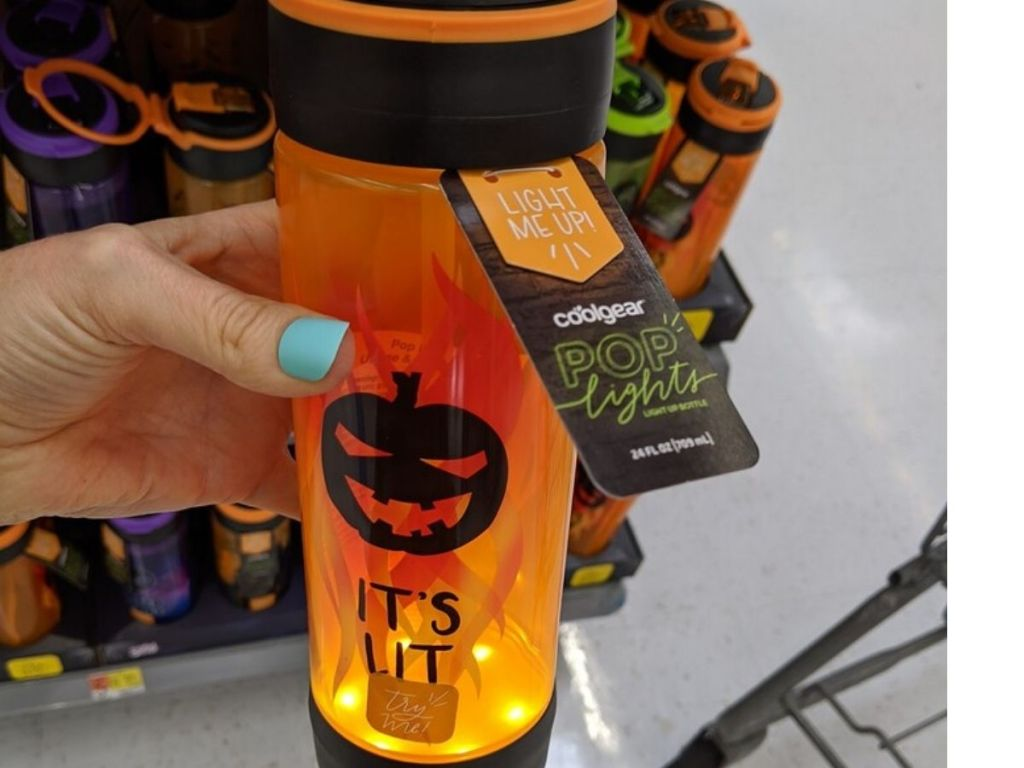 Cool Gear Pop Lights Water Bottles