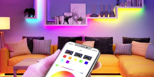 Color-Changing LED Light Strips from $23.99 Shipped on Amazon   Sync to Music & Control w/ Your Phone