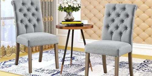 GO! Dining Accent Chair 2-Piece Set Only $89.35 Shipped (Under $45 for Each Chair!)
