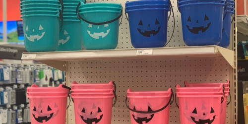 Target is Making Halloween Fun For All with These Colored Buckets & They're Only 70¢