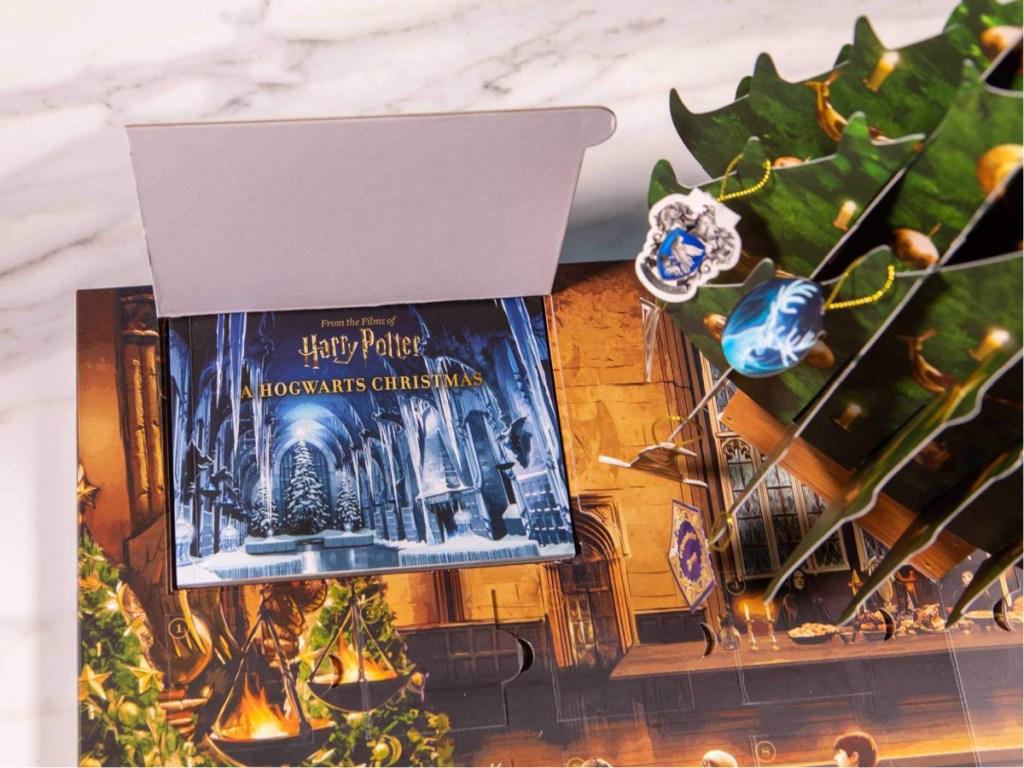 harry potter Hogwarts Christmas advent calendar
