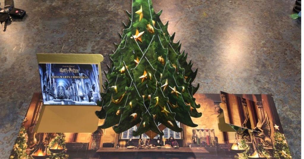 pop-up Harry Potter Christmas Tree advent calendar