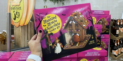 This Chocolate Haunted House is Ready to Build & Only $7.99 at Trader Joe's
