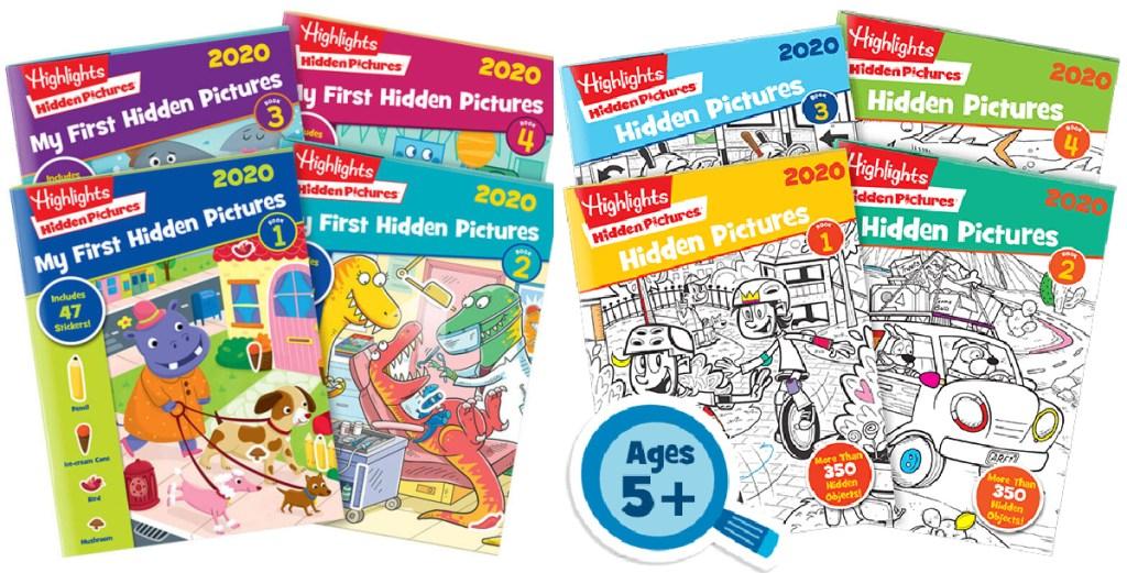 Highlights Hidden Pictures workbooks
