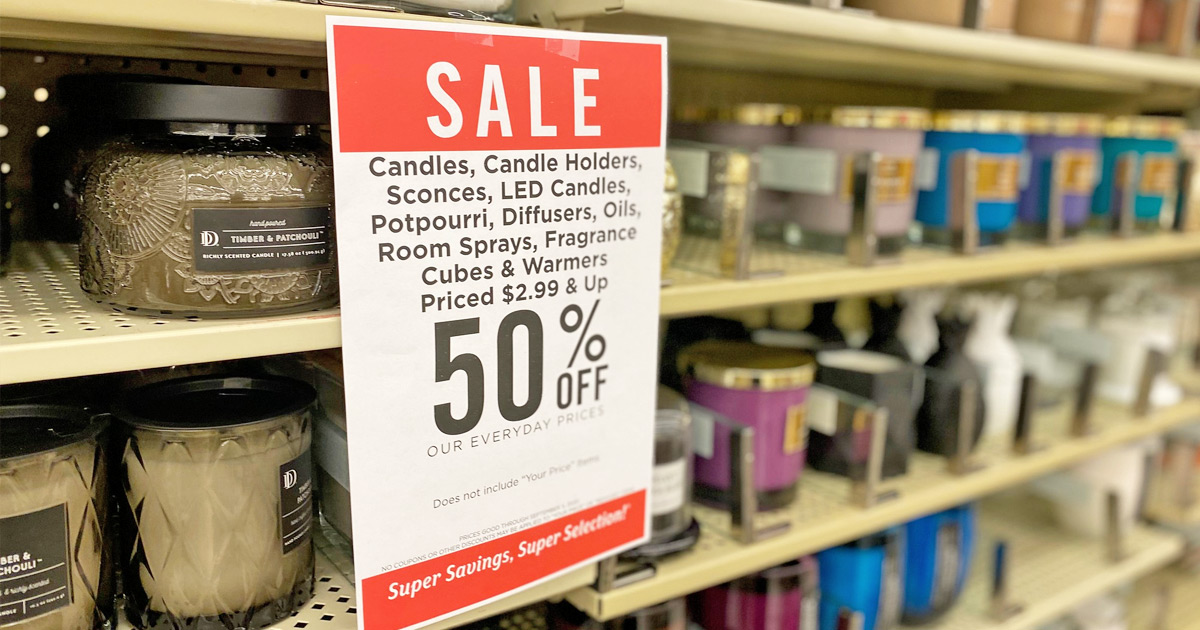 50 Off Candles Wax Melts Accessories At Hobby Lobby Hip2save