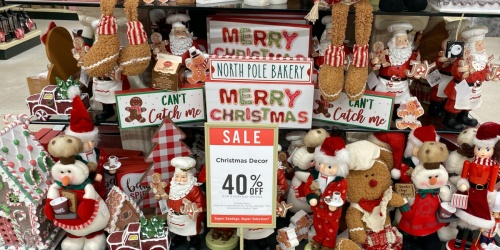 40% Off Christmas Decor at Hobby Lobby | Decor, Ornaments, & More