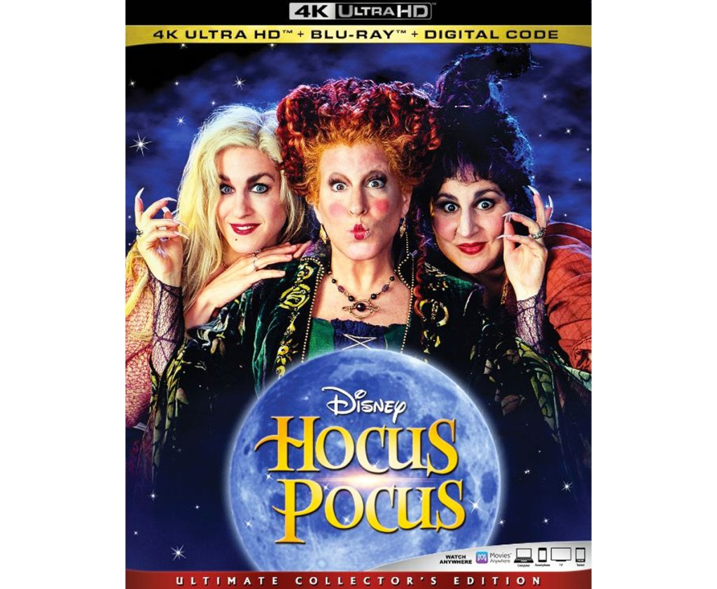 Hocus Pocus 4K Blu-ray case cover