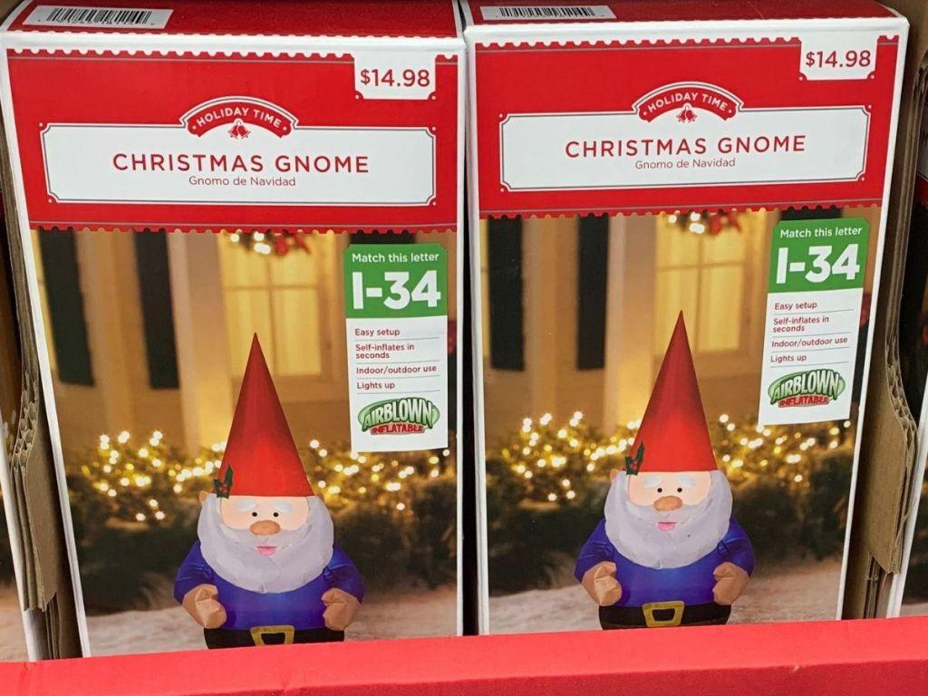 Holiday Time Christmas Gnome Inflatable