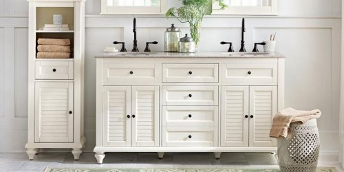 Up to 50% Off Bathroom Vanities, Faucets & More + Free Shipping on HomeDepot.com