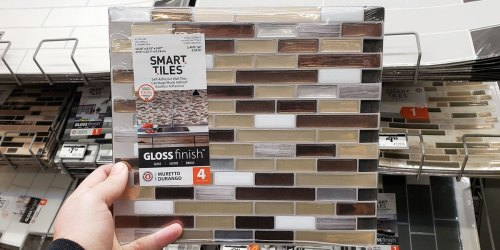 Up to 60% Off Peel & Stick Wall Tiles on HomeDepot.com