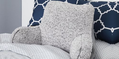 Sherpa Bed Rest Pillow Only $16 at JCPenney (Regularly $50)