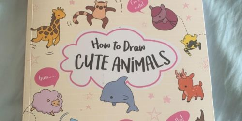 How to Draw Cute Animals Book Only $7.89 on Amazon