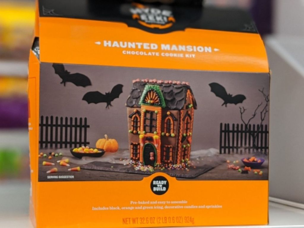 Cookie House Halloween Mansion Kit