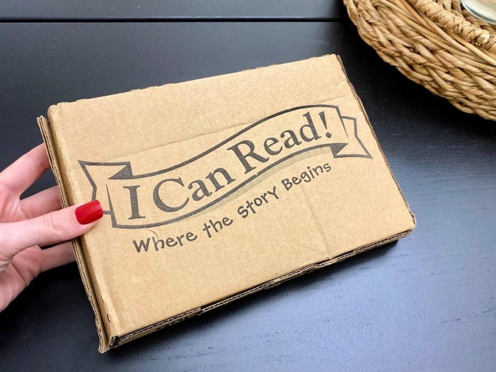 I Can Read shipping box