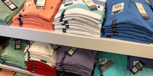 IZOD Men's Big & Tall Polo Shirts Only $12 on Amazon (Regularly $48)