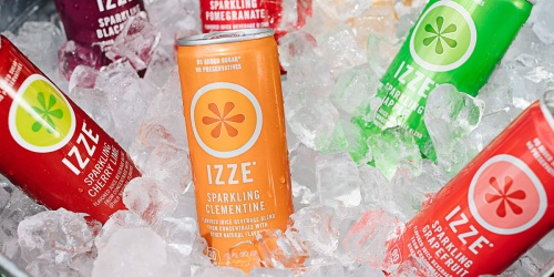 IZZE Sparkling Juice 24-Count Only $9.87 Shipped on Amazon | Just 41¢ Per Can