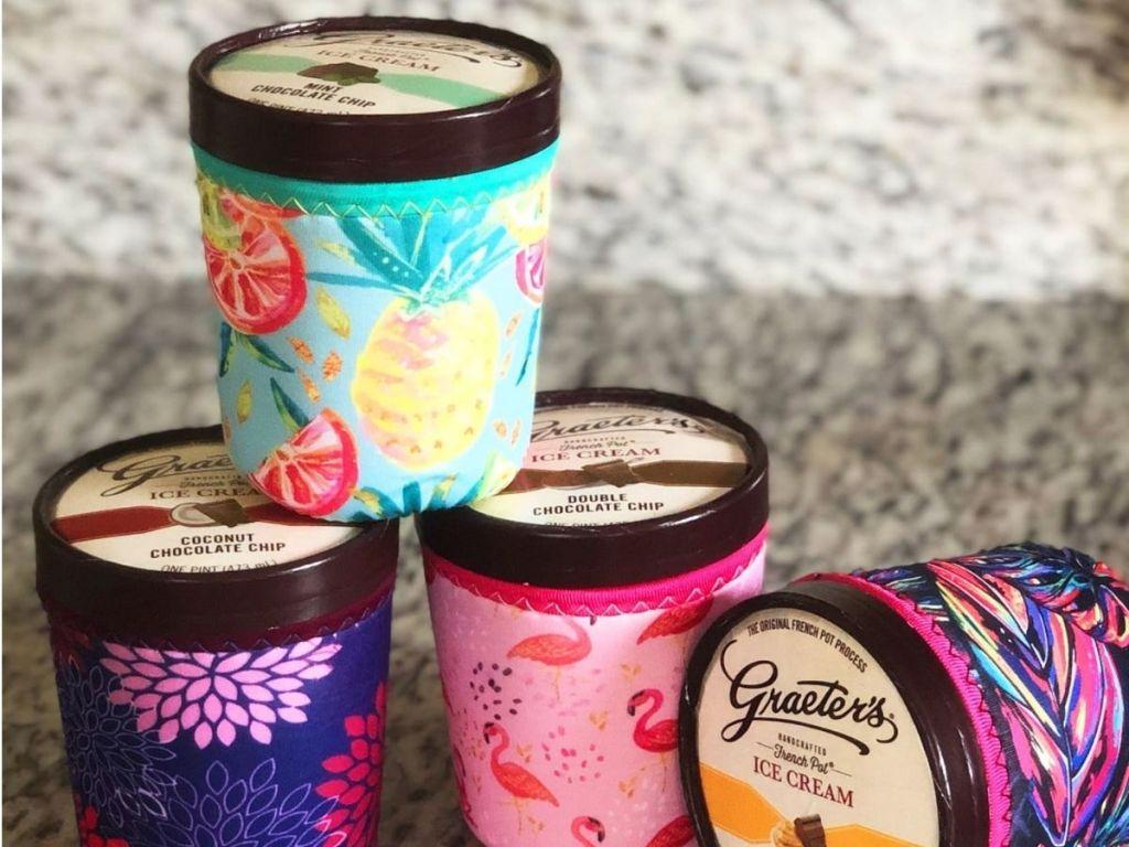 Koverz ice cream jar covers