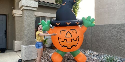 Enter to Win a Giant Pumpkin Inflatable This Week (We're Picking 2 Winners!)