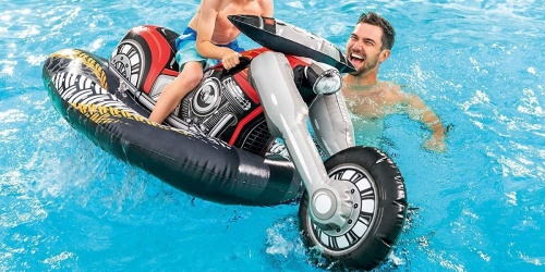 Intex Motorcycle Ride-On Pool Toy Only $11 on Amazon (Regularly $35)