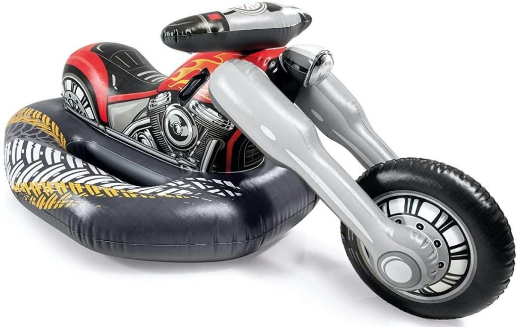 motorcycle pool float